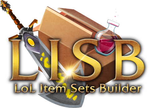 LoL Item Sets Builder